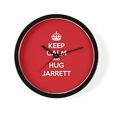 Hug Jarrett Wall Clock