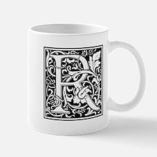 Decorative Letter R Mugs