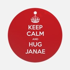 Hug Janae Ornament (Round)