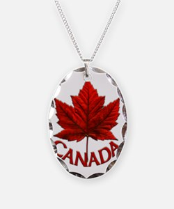 Canada Maple Leaf Souvenir Necklace