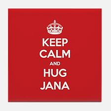 Hug Jana Tile Coaster