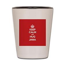Hug Jana Shot Glass