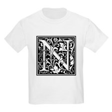 Decorative Letter N T-Shirt