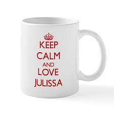 Keep Calm and Love Julissa Mugs