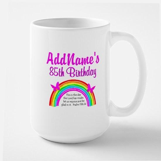 85TH PRAISE GOD Large Mug