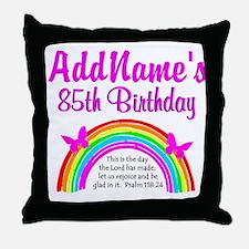 85TH PRAISE GOD Throw Pillow
