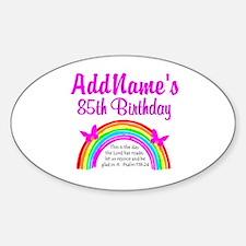 85TH PRAISE GOD Sticker (Oval)