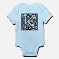 Decorative Letter K Body Suit