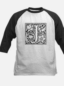 Decorative Letter J Baseball Jersey