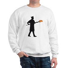 Baker with bread Sweatshirt