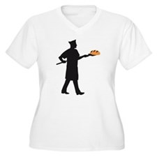 Baker with bread Plus Size T-Shirt