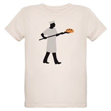 Baker with bread T-Shirt
