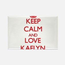 Keep Calm and Love Kaelyn Magnets