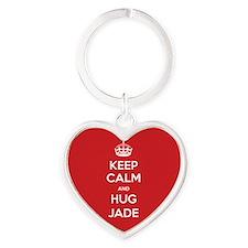 Hug Jade Keychains