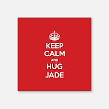 Hug Jade Sticker