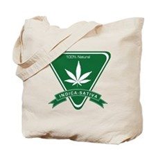 Indica Sativa Tote Bag