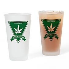 Indica Sativa Drinking Glass