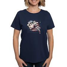 Grunge Captain America Tee