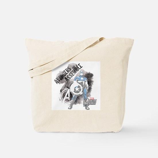 Avengers Assemble Watercolor Tote Bag