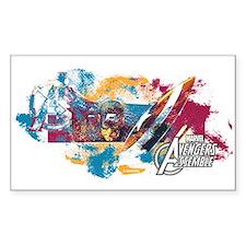Captain America Paint Decal