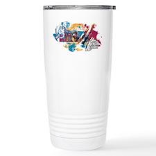 Captain America Paint Travel Mug