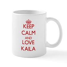 Keep Calm and Love Kaila Mugs