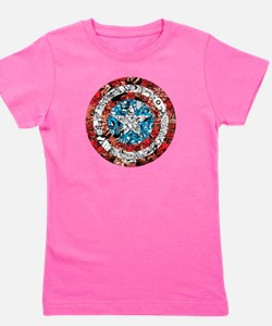 Shield Collage Girl's Tee