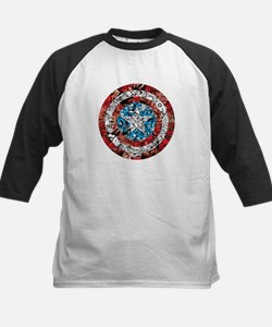 Shield Collage Kids Baseball Jersey
