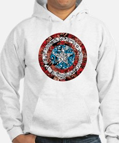 Shield Collage Hoodie