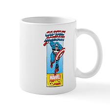 Captain America Action Mug