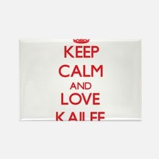 Keep Calm and Love Kailee Magnets