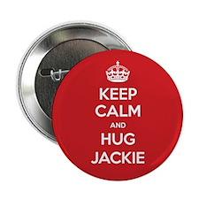 """Hug Jackie 2.25"""" Button"""
