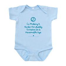 Retire Late Infant Bodysuit Body Suit