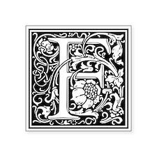 Decorative Letter F Sticker
