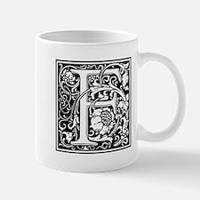 Decorative Letter F Mugs