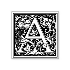 Decorative Letter A Sticker