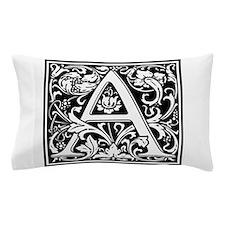Decorative Letter A Pillow Case