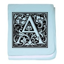 Decorative Letter A baby blanket