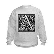 Decorative Letter A Sweatshirt
