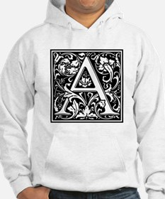 Decorative Letter A Hoodie