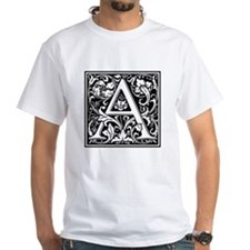 Decorative Letter A T-Shirt