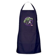 The Hulk Badge Apron (dark)