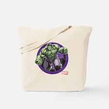 The Hulk Badge Tote Bag