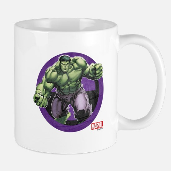 The Hulk Badge Mug