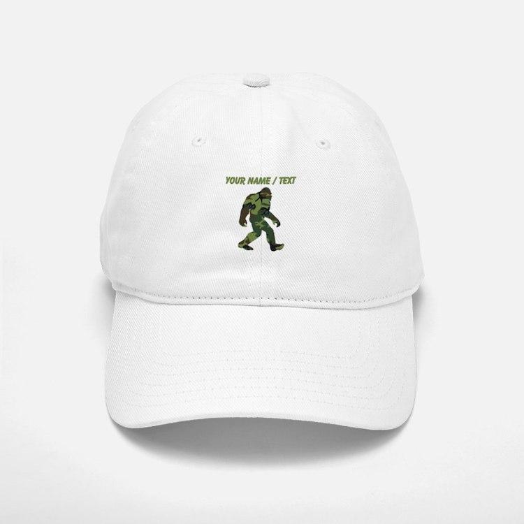 Custom Camo Bigfoot Baseball Baseball Baseball Cap