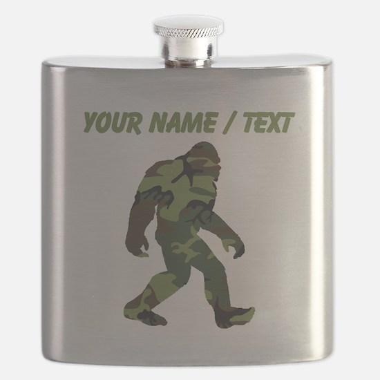 Custom Camo Bigfoot Flask