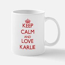 Keep Calm and Love Karlie Mugs