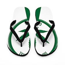 100% Natural Cannabis Flip Flops