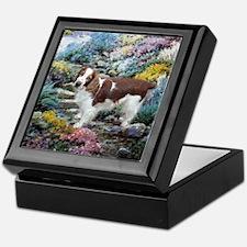 Welsh Springer Spaniel Art Keepsake Box