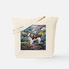 Welsh Springer Spaniel Art Tote Bag